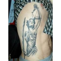 Pin By Kayla Baker On No Whining Justice Tattoo Tattoos Scales Of Justice Tattoo