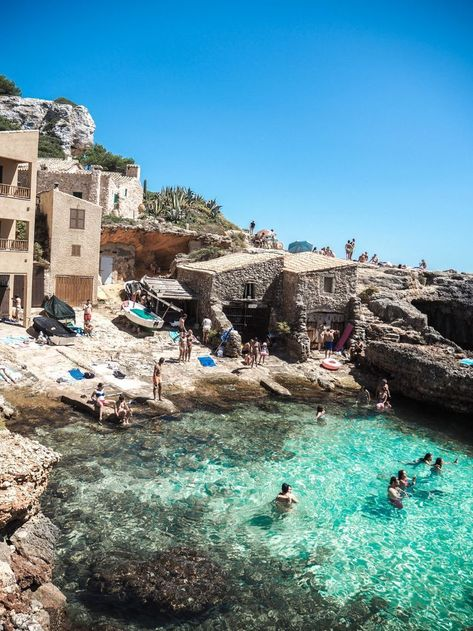 The Best Beaches In Mallorca, Spain | #travel #spain