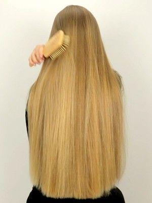 Video Super Smooth Hair Long Thin Hair Smooth Hair Long Straight Hair