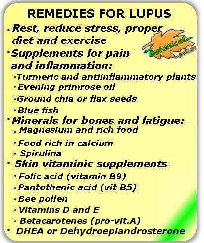 Natural Remedies For Lupus Lupus Facts Lupus Diet