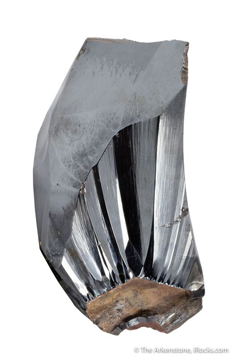 """Hematite, Mefis, Taouz, Er Rachidia Province, Draa-Tafilalet Region, Morocco, cabinet, 10.8 x 8.3 x 5.5 cm, A large, incredibly lustrous and sculptural piece of """"horsetooth"""" style hematite from Morocco, where the material is known in this habit but very, very uncommon amidst the large quantity of botryoidal hematite produced recently at this locality (you can see MINDAT and our own sister auction site for photos, showing the context of typical material from here, and a few small exampl"""