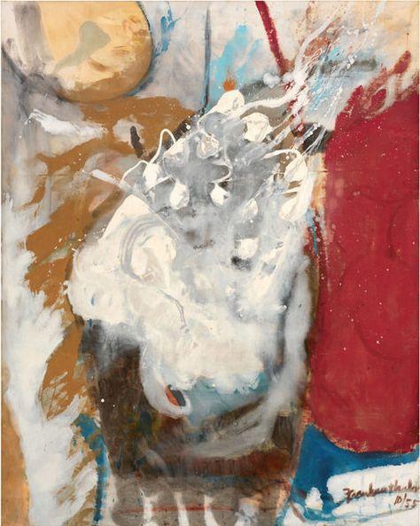 Helen Frankenthaler, 'Holocaust,' 1955, Helen Frankenthaler Foundation value