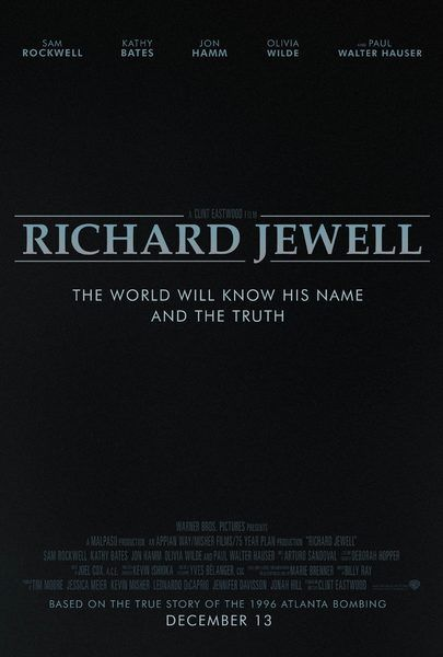 Movie Trailers Richard Jewell Trailer Directed By Clint Eastwood And Based On True Events Clint Eastwood New Movie What To Watch Movies Love Movie Trailer