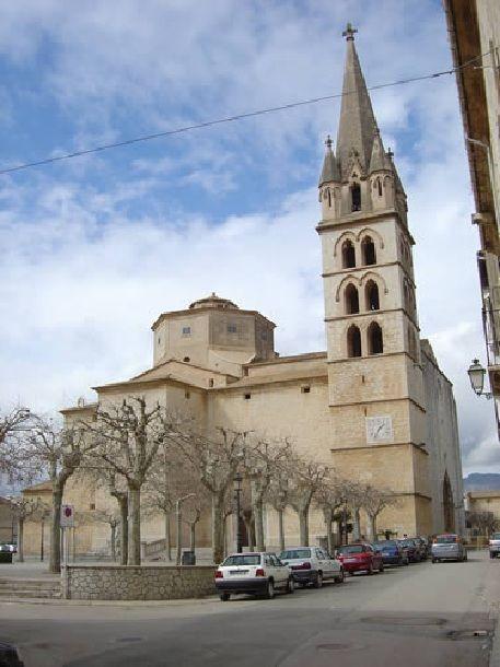 Mallorca Iglesia De Sta María De Robines En Benisalem Edificios Mallorca Iglesia