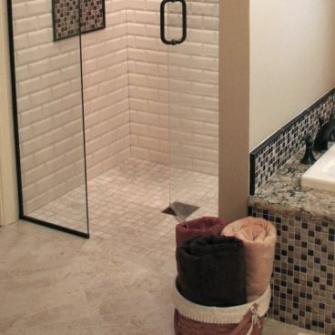 Level Entry Shower Pan Kit For Tile Showers 14 X 14 For Small