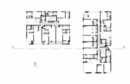 Apartment Building Plans Layout 41 Trendy Ideas Apartment Building Building Building Plans