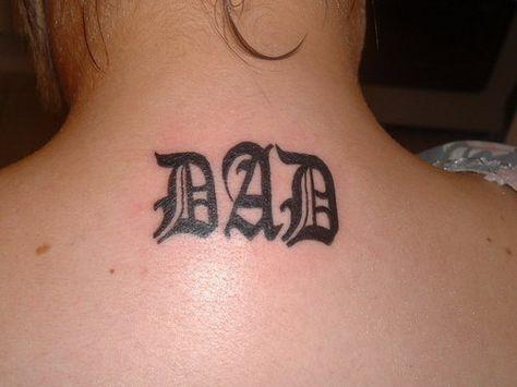 dad tattoo