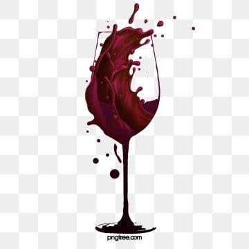 Bicchiere Di Vino Rosso Pieno Di Vino Rosso Calice Inchiostro Liquido File Png E Psd Per Download Gratuito Wine Glass Drawing Red Wine Image Wine Images