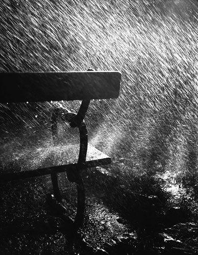 #robert #husser #regen #bank #imRobert Häusser: Bank im Regen, 1942