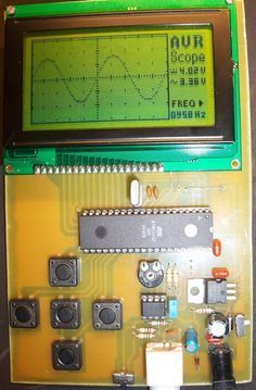 Low Speed Avr Oscilloscope Electronics Projects Diy Electronics Projects Arduino