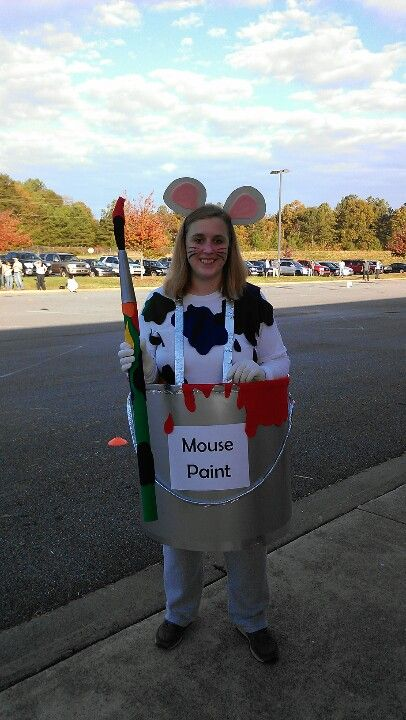 Mouse paint costume