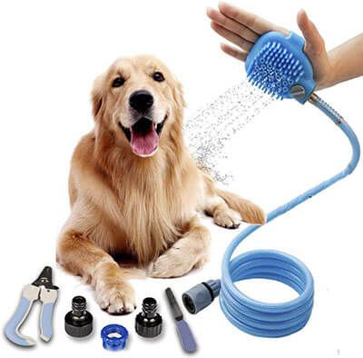 Top 10 Best Dog Shower Sprayers In 2020 Reviews Dog Shower Dog
