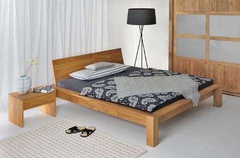 VICTORIA Holzbett Massivholzbett Doppelbett Bett Massiv - dream massivholzbett ign design