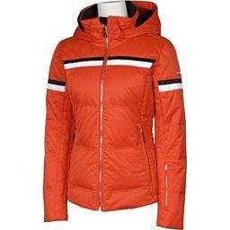 Karbon Pascal Womens Insulated Ski Jacket Persimmon Arctic White Black Insulated Ski Jacket Ski Jacket Jackets