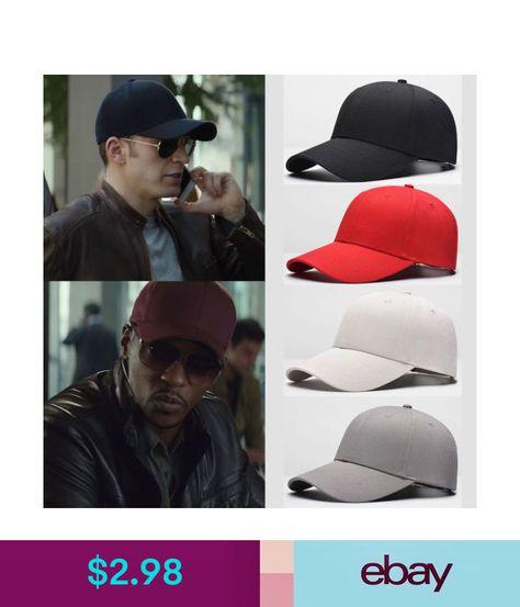 Plain Solid Washed Cotton Polo Style Baseball Ball Cap Caps Hat Adjustable   ebay  Fashion 6a04a7a2b66b