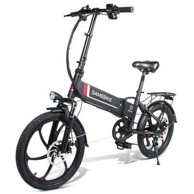 Samebike 20lvxd30 Smart Folding Electric Moped Bike E Bike Sale Price Reviews Electric Moped Moped Bike Ebike