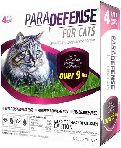 Para Defense 10 Lb Cat Pet Flea Control Supply Large Fleas