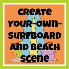 Create your own surfboard button