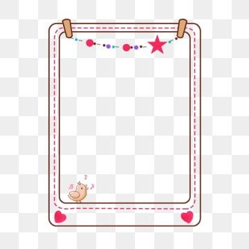 Creative Border Simple And Natural Love Heart Shape Graffiti Frame Beautiful Texture Cute Cartoon Border Frame Png And Vector With Transparent Background For Background Decoration Powerpoint Background Design Love Png