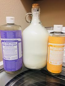 Chemical Free Laundry Soap Homemade Laundry Detergent Homemade