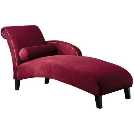 Cranberry color bedroom on pinterest comforter sets bed for Burgundy chaise