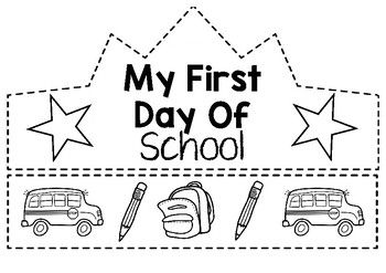 1st day of preschool text illustration, Pre-school Keller Elementary School  First day of school Kindergarten , Preschool Newsletter transparent  background PNG clipart   HiClipart