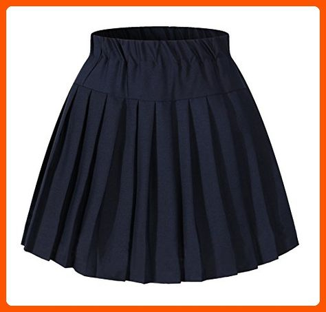 e385b07cf Girl`s Short Navy Sailor Suit School Uniform skirts costumes Blue - All  about women (*Amazon Partner-Link)