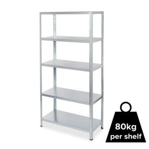 Form Axial 5 Shelf Steel Shelf Unit Shelves Storage Shelves Bookcase Shelves