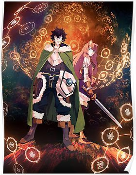 The Rising Of The Shield Hero Poster By Rocketbone Anime Anime