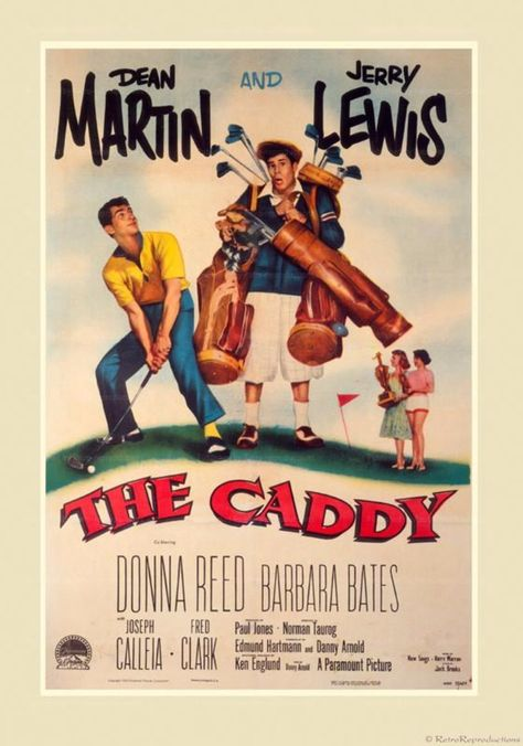 The Caddy - Movie Poster