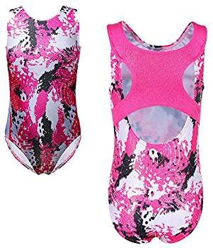 98ef8e9378e9c Amazon.com: TFJH E Sparkle Gymnastic Leotards for Girls Dancing ...