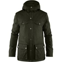 Fjällräven Greenland Re-Wool Jacket Wolljacke Herren dunkelgrü S Fjällräven