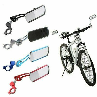 Alloy Handlebar Bicycle Mirror MTB Bike Rearview Motorcycle Looking Glass