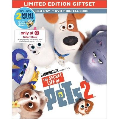 The Secret Life Of Pets 2 Target Exclusive Blu Ray Dvd Digital With Images Secret Life Of Pets Secret Life Pets