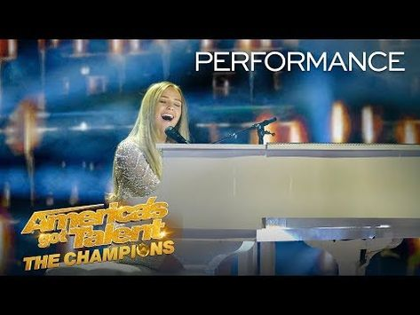 Wow Connie Talbot Stuns Simon Cowell With Original Song America S Got Talent The Champions Youtube In 2020 With Images Connie Talbot America S Got Talent Original Song