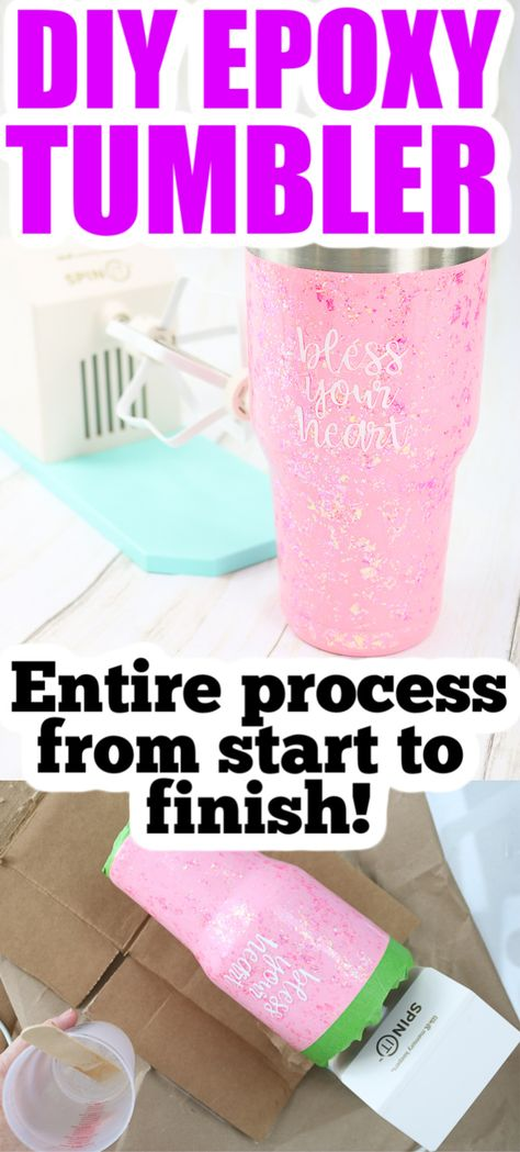 See the entire process from start to finish on how to make an epoxy tumbler. Full set of instructions plus a video so you can see how to make your own for gifts or to sell! Tumblr Cup, Diy Tumblr, Girl Friendship Quotes, Funny Friendship, Vinyl Quotes, Quotes Quotes, Friend Quotes, Southern Girl Quotes, Tumbler Quotes