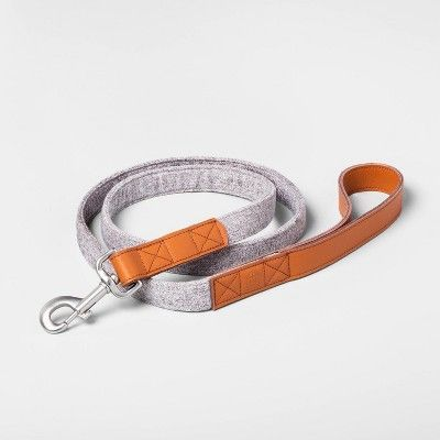 5ft Pet Leash Gray Hearth Hand With Magnolia