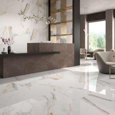 An Amazing Large Format Porcelain Tile From Itt Ceramic Bv Tile And Stone The Marble L Marble Tile Kitchen Tile Floor Living Room Marble Living Room Floor