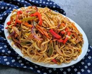 Kadai Paneer Gravy Recipe How To Make Kadai Paneer Gravy Vegecravings Recipe Veg Chow Mein Recipe Chow Mein Recipe Chow Mein