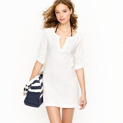 Knit tunic dress - JCrew