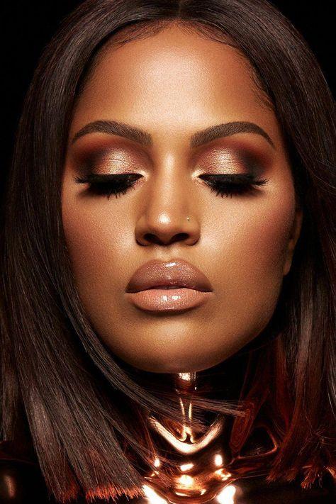 Shayla x ColourPop - Perception Pressed Powder Eyeshadow Palette eyeshadow look #makeuptips