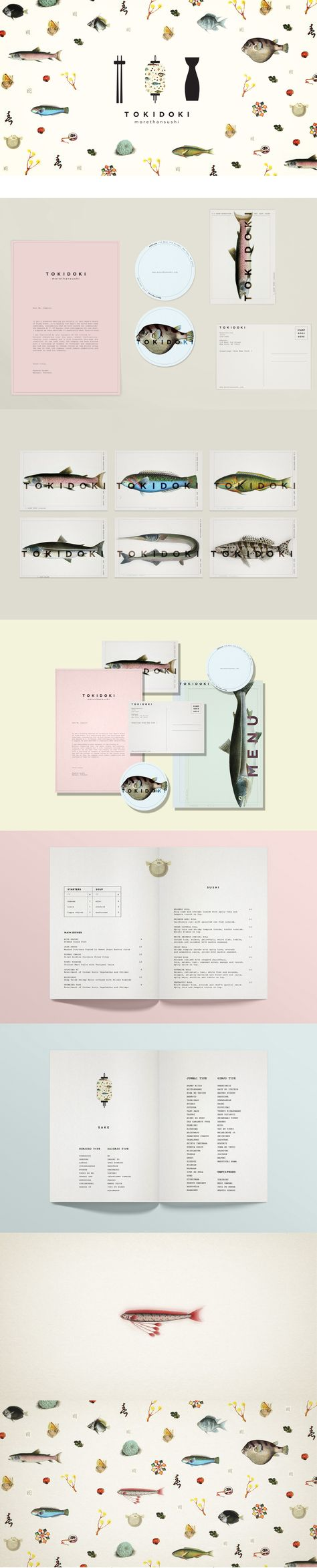 Branding, Art Direction & Graphic Design _Japanese Restaurant Corporate Design #corporatedesign
