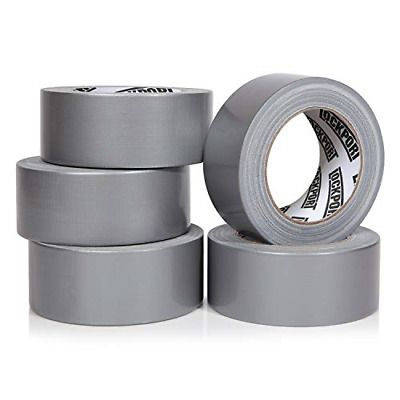 Sponsored Ebay Heavy Duty Silver Duct Tape 5 Roll Multi Pack Industrial Lot 30 Yards X 2 Inch W In 2020 Silver Duct Tape Duct Tape Leather Repair