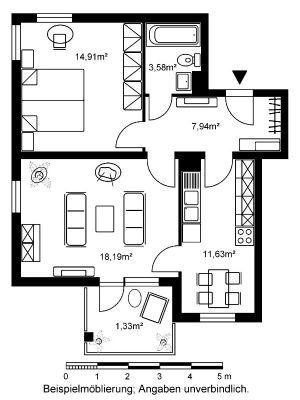 2 Zimmer Wohnung Mit Neuem Bad Sucht Neue Mieter Wohnung Hanau 2r88c4y Innererfrieden Hauskatkuvat Dekohauseingang Wohnzim Floor Plans