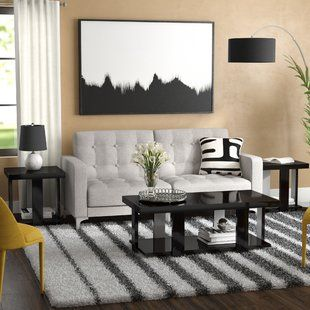 Living Room Table Sets Dicken 3 Piece Coffee Table Set Living Room Table Sets Coffee Table 3 Piece Coffee Table Set
