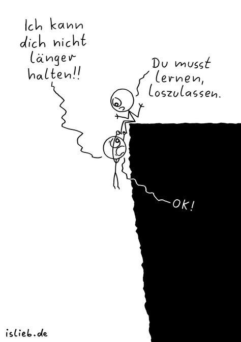 Halten. Is lieb?   #beziehung #trennung #abgrund #loslassen #islieb
