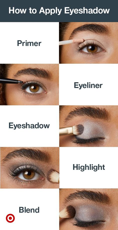 Looking for eye makeup ideas? Try this eyeshadow tutorial. With these makeup tips, it's easy to get a smokey eye, natural eye or bold, colorful looks for blue eyes or brown eyes.