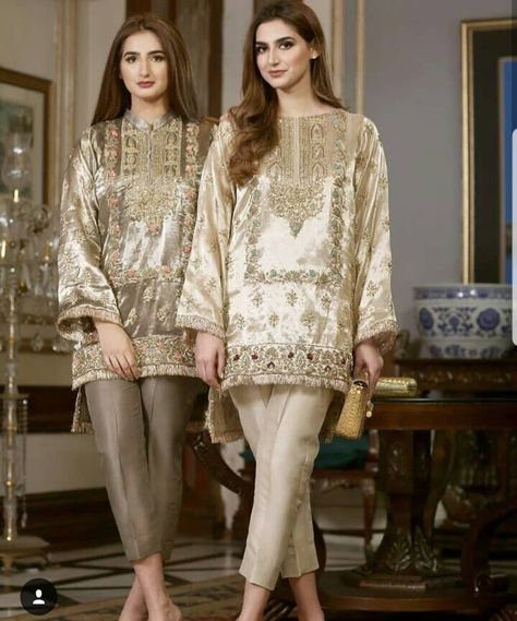 Beautiful Ladies in IVY Couture. Get these outfits today at our Lahore Flagship Store at Hussain Chowk MM Alam Rd.