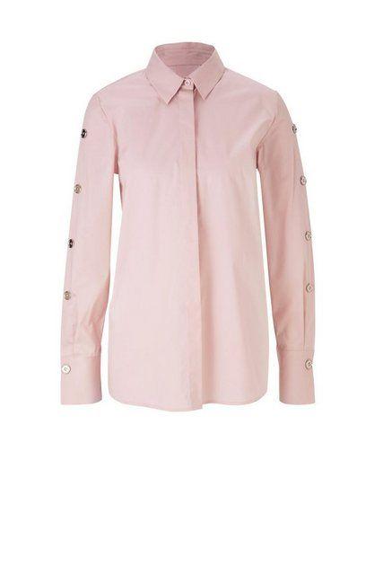 Style Hemdbluse Mit Schmuckelementen Blusen Damen Bluse Und Hemdblusen