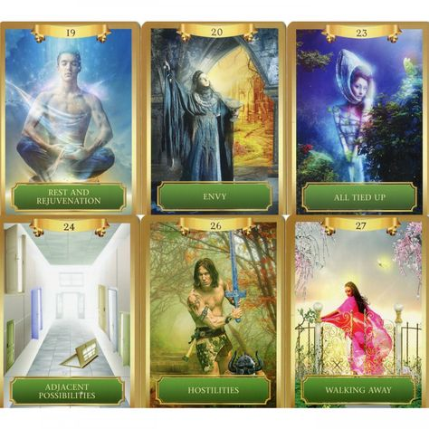 """Energy Oracle Cards: 53-Card Deck & Guidebook🌺 This Oracle Deck, For Me...Feels & Reads Like A Tarot Deck, Also...I Have Other Oracle Decks With This Tarot Essence About Them, Also! I Call Them My; """"Orac-Arot"""" Decks-Or My; """"Hybrid Orac-Arot"""" My 2 Favorite-""""Vacillating In Between Realms"""" Oracle Cards Are: This One, """"Energy Oracle Cards"""" And Colette Baron Reid's, """" The Enchanted Map Oracle Cards""""🌺"""